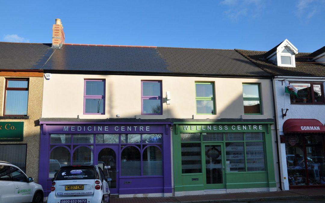 Wellness centre, Neath, South Wales
