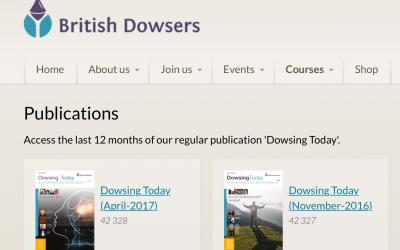 Dowsing Today