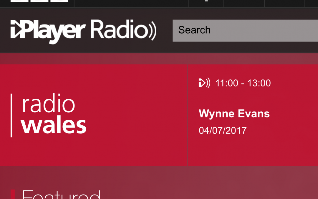 Interview with BBC Radio Wales