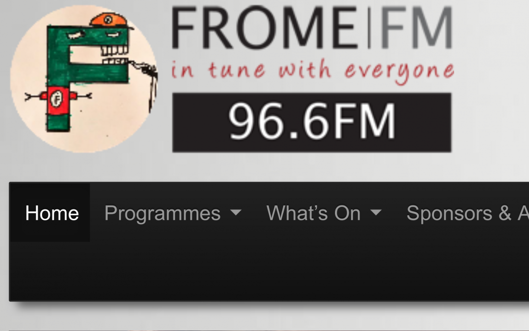 Interview on Radio Frome FM