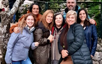 Space Clearing & Geomancy group visit Fatima and Mother Mary shrine