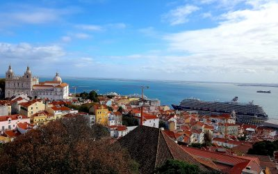 Relaxing in Lisbon – after teaching Space Clearing & Geomancy